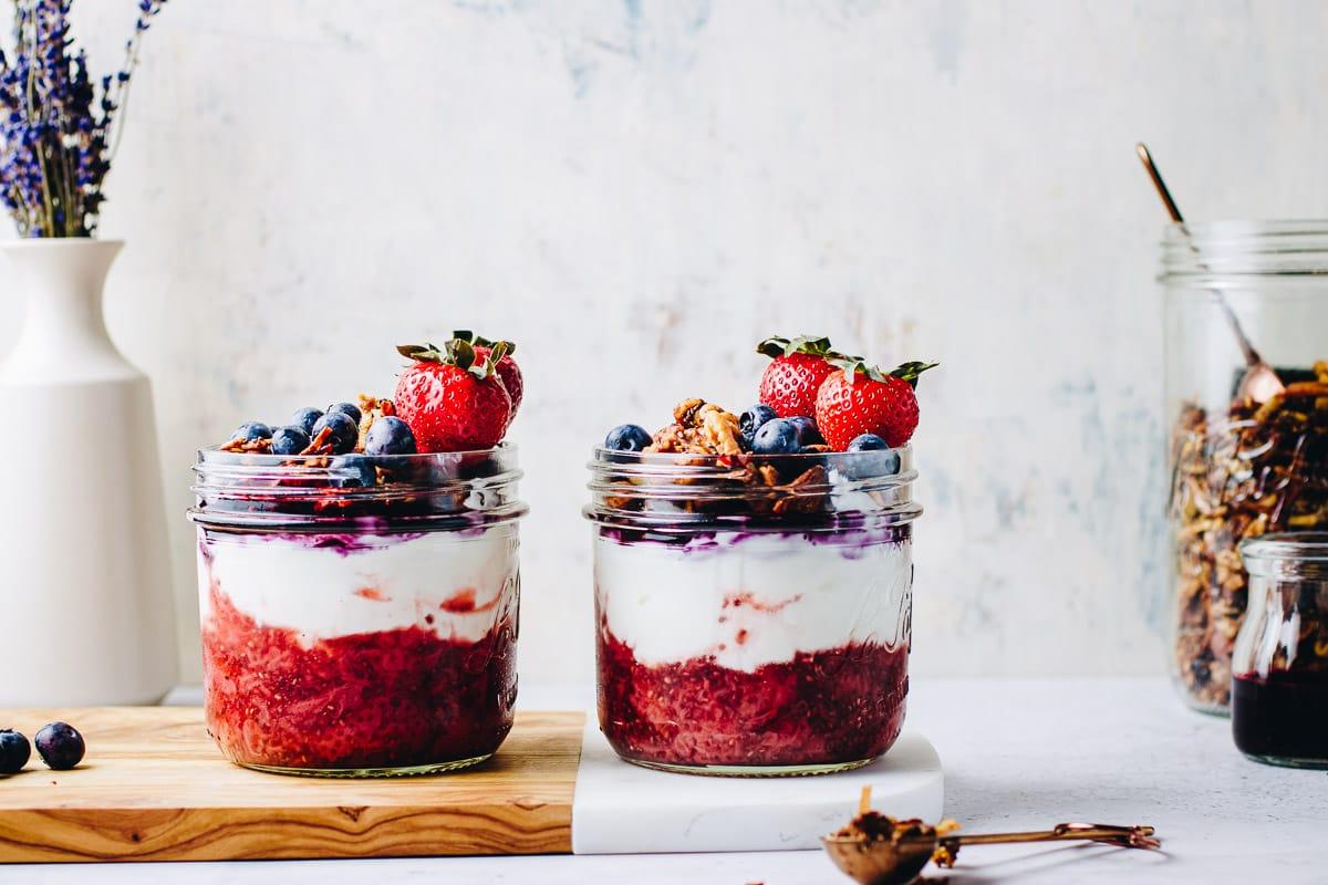 Crunchy Yogurt Parfait