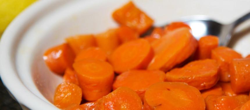 Maple Lemon Carrots